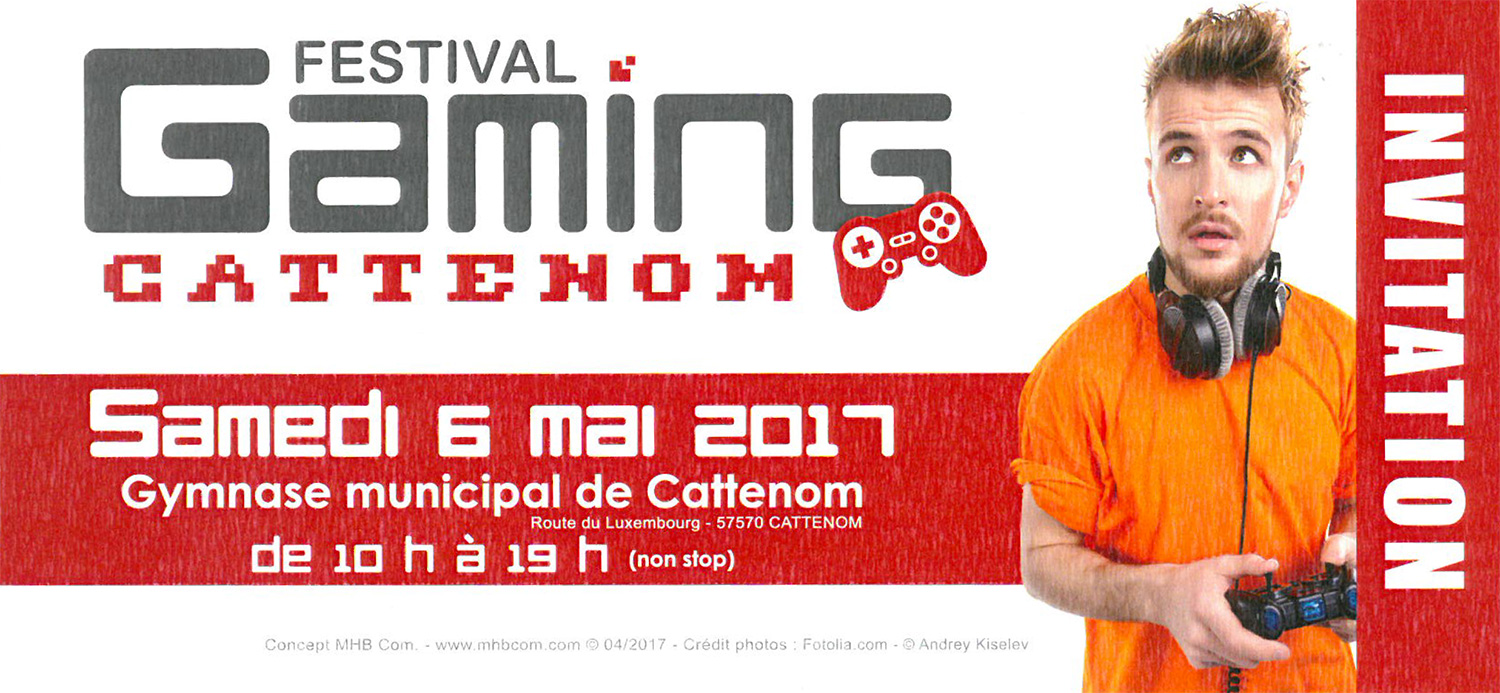 flyer festival gaming cattenom - 6 mai 2017