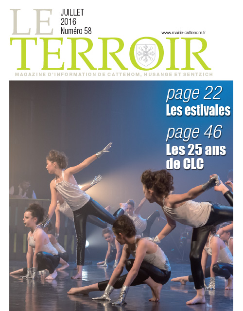 Couverture du Terroir N°58 - Magazine communal de Cattenom