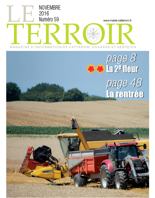 Couverture du Terroir N°59 - Magazine communal de Cattenom