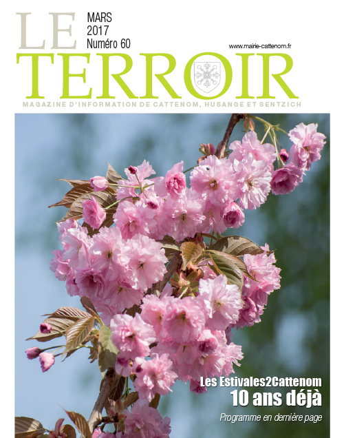 Couverture du Terroir N°60 - Magazine communal de Cattenom