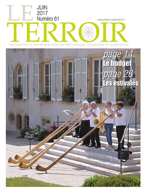 Couverture du Terroir N°61 - Magazine communal de Cattenom