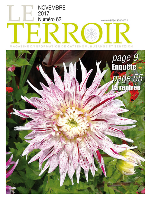 Couverture du Terroir N°62 - Magazine communal de Cattenom