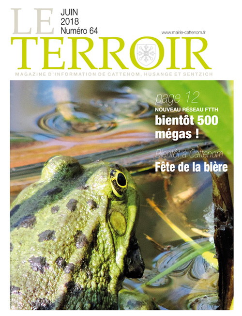 Couverture du Terroir N°64 - Magazine communal de Cattenom