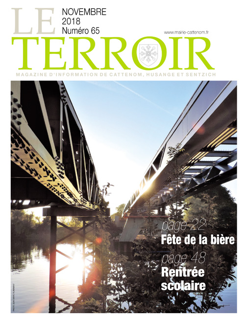 Couverture du Terroir N°65 - Magazine communal de Cattenom
