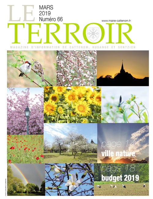 Couverture du Terroir N°66 - Magazine communal de Cattenom