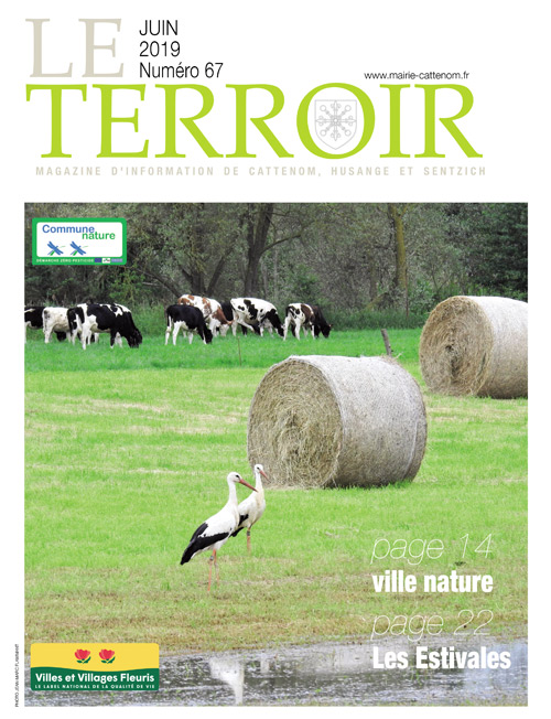 Couverture du Terroir N°67 - Magazine communal de Cattenom